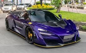 McLaren 720S độ N-Largo độc nhất Việt Nam của doanh nhân Vũng Tàu bất ngờ xuất hiện tại Sài Gòn