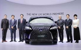 Ra mắt Lexus LM 4 chỗ siêu sang cho Chủ tịch: Giá quy đổi 5 tỷ, có vách ngăn chứa TV 26 inch