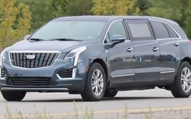 Cadillac để lộ xe limousine siêu dài - Hàng hiếm cho khách siêu VIP