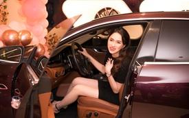 Hoa hậu Hương Giang mua Maserati Quattroporte hơn 8 tỷ đồng, tiết lộ cách chọn xe đặc trưng của phụ nữ