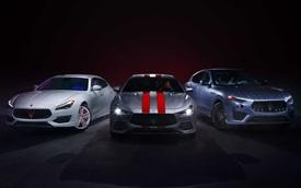 Maserati khởi động chương trình tùy biến với 3 phiên bản đặc biệt