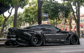 Ngắm Ford Mustang GT 5.0 độ widebody cực độc trên đường phố Hà Nội, cách đỗ xe khiến nhiều người ngạc nhiên