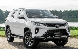 Toyota Fortuner 2021 giá từ 995 triệu đồng: Giảm giá, thêm option quyết lấy lại ngôi vua SUV 7 chỗ tại Việt Nam