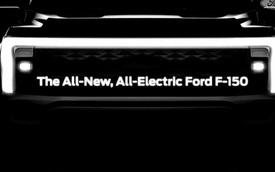 Ford F-150 thuần điện lần đầu được hé lộ, ra mắt trong năm sau