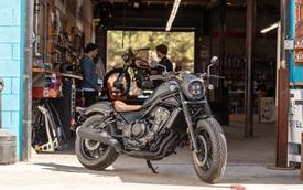 Xe chơi Honda Rebel 500 2020 ra mắt khách Việt: Nhập Thái Lan, giá 180 triệu đồng