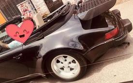 Xế cổ hàng hiếm Porsche 930 Turbo Cabriolet bất ngờ xuất hiện tại Việt Nam