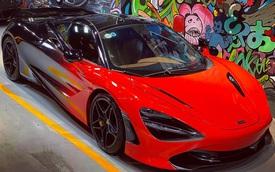Khoác 'áo' màu nổi chưa lâu, McLaren 720S đầu tiên tại Việt Nam lại 'biến hoá' với ngoại thất khác lạ