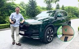 Khám phá VinFast Lux SA2.0 độ như President của 'ông trùm' Rolls-Royce VN: Thêm tính năng kiểu xe sang, lột xác nội, ngoại thất