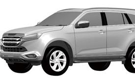 Isuzu mu-X thế hệ mới dần lộ diện - Đối thủ trực tiếp của Toyota Fortuner và Ford Everest