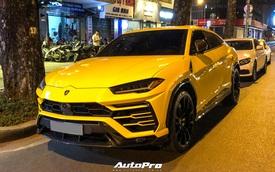 Lamborghini Urus vàng với gói carbon gây chú ý về tay người chơi Sài Gòn