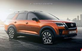 Thêm ảnh Nissan Pathfinder mới - 'X-Trail cỡ lớn' cạnh tranh Ford Explorer