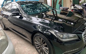 Là đối thủ Mercedes-Benz E-Class, chiếc xe sang này được bán lại với giá rẻ hơn Toyota Camry