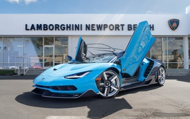 Đại gia Hà Nội đặt mua Lamborghini Centenario Roadster cực độc về nước?