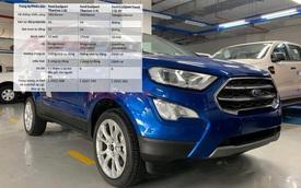 Lộ thông số 3 bản Ford EcoSport 2020 sắp ra mắt Việt Nam: Bỏ cửa sổ trời, thêm nhiều tính năng đấu Hyundai Kona