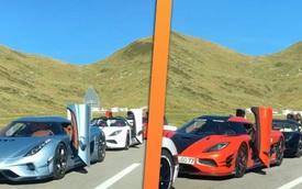 Hội chủ xe Koenigsegg tổ chức offline: Đếm 'sương sương' cũng được 25 triệu USD
