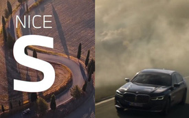 Hay troll nhau nhưng lần này, BMW phải thán phục Mercedes, khen S-Class đời mới khi quảng cáo 7-Series