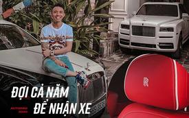 Minh 'nhựa' lần đầu chia sẻ về Rolls-Royce Cullinan mới tậu: 'Đợi cả năm để nhận xe'