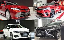 Sedan 1 tỷ: Toyota Camry vẫn độc tôn
