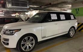 """Chủ xe Range Rover ở Hà Nội bị """"ném đá"""" vì dán giấy """"không đỗ xe bên cạnh"""""""