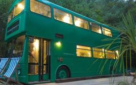 Mua xe buýt hai tầng gần 150 triệu đồng biến thành ngôi nhà mơ ước
