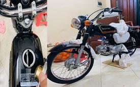 Xe máy Honda CD50 43 năm tuổi chưa từng đổ xăng 800 triệu
