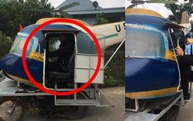 """Chiếc """"máy bay"""" di chuyển trên đường làng, nhìn kỹ ai cũng bật cười"""