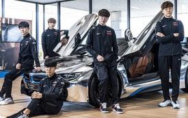 T1 tung loạt ảnh quảng bá thương hiệu xe sang BMW, Faker ngày càng ra dáng 'chủ tịch'