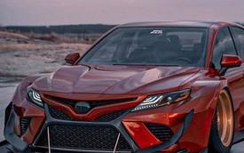 """Hình ảnh Toyota Camry XV70 """"ngầu"""" hơn với Brad Builds"""