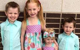 Ô tô gia đình gặp tai nạn nghiêm trọng, bé gái 6 tuổi trở thành anh hùng nhanh trí cứu các em thoát nạn