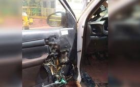 Để nước rửa tay khô trong ô tô gây hỏa hoạn