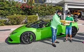 Chỉ có ở Dubai: chủ siêu thị đi Lamborghini để... ship xoài cho khách