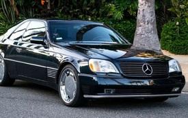 Đấu giá xe Mercedes-Benz hơn 20 năm tuổi của Michael Jordan