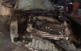 Tài xế Lexus phóng như bay gây tai nạn liên tiếp ở Hải Phòng có dấu hiệu sử dụng bia rượu