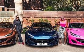 """Tỷ phú dầu mỏ Nigeria """"mạnh tay"""" tậu liền 3 siêu xe sang chảnh tặng con gái"""