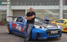 """Ông chủ xưởng vừa """"ra lò"""" chiếc VinFast độ body thân rộng đầu tiên tại Việt Nam: """"Nhiều người coi độ xe là phá xe"""""""