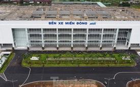 Cận cảnh bến xe hiện đại nhất Việt Nam trước ngày hoạt động