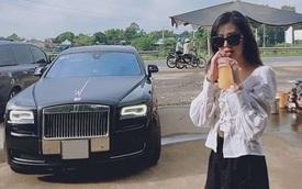 Gái xinh đọ dáng với Rolls-Royce, dân mạng hỏi thăm nhiệt tình hóa ra... là chụp ké