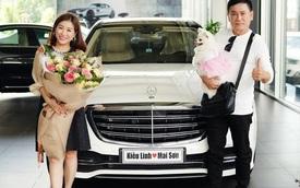 Bóc giá xe Mercedes-Benz Kiều Linh được ông xã Mai Sơn tặng
