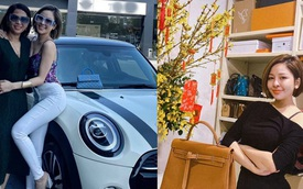 """Hot girl Trâm Anh mua xe xịn, tiết lộ """"đại gia"""" đứng sau tài trợ"""