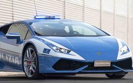 Cảnh sát Ý được trang bị siêu xe Lamborghini 16 tỷ
