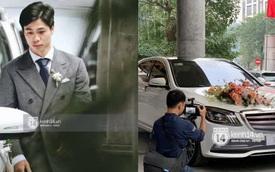 Cận cảnh siêu xe rước dâu 3 tỷ đồng của Công Phượng: Làm tiệc cưới thứ 3 rồi mà vẫn hoành tráng thế này đây!