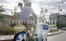 Pháp bắt đầu sử dụng xe đạp cứu thương