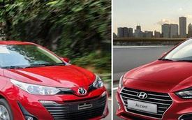 Phân khúc xe sedan cỡ B: Cuộc đua của Toyota Vios và Hyundai Accent