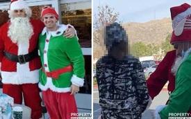 Ông già Noel đang đi phát quà thì tiện tay bắt luôn băng nhóm trộm xe ô tô