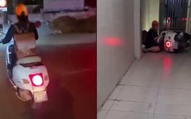 Bị đụng xe không được xin lỗi, thanh niên theo người phụ nữ về tận nhà và sự cố bất ngờ trước cửa