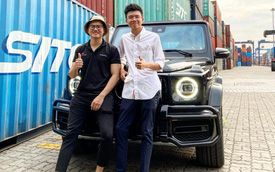 Rộ tin anh em Phan Thành, Phan Hoàng tậu thêm Mercedes-AMG G 63: Xe 'full option', vừa kịp về nước đón Tết