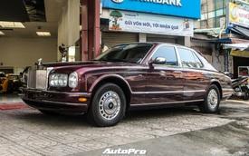 Rolls-Royce Silver Seraph màu độc nhất vô nhị xuất hiện tại Sài Gòn