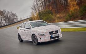 Hyundai lại nhá hàng Kona N, xác nhận động cơ và hộp số sử dụng