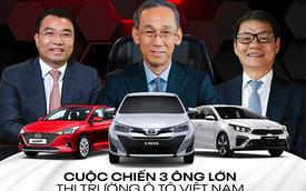 Tam trụ THACO vs Toyota vs TC Motor năm 2020: Đua tranh gay gắt từng phân khúc, cân nửa thị trường