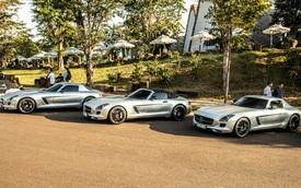 Cận cảnh bộ tứ Mercedes-Benz SLS AMG của ông Đặng Lê Nguyên Vũ: Chiếc nào cũng có lý lịch đặc biệt